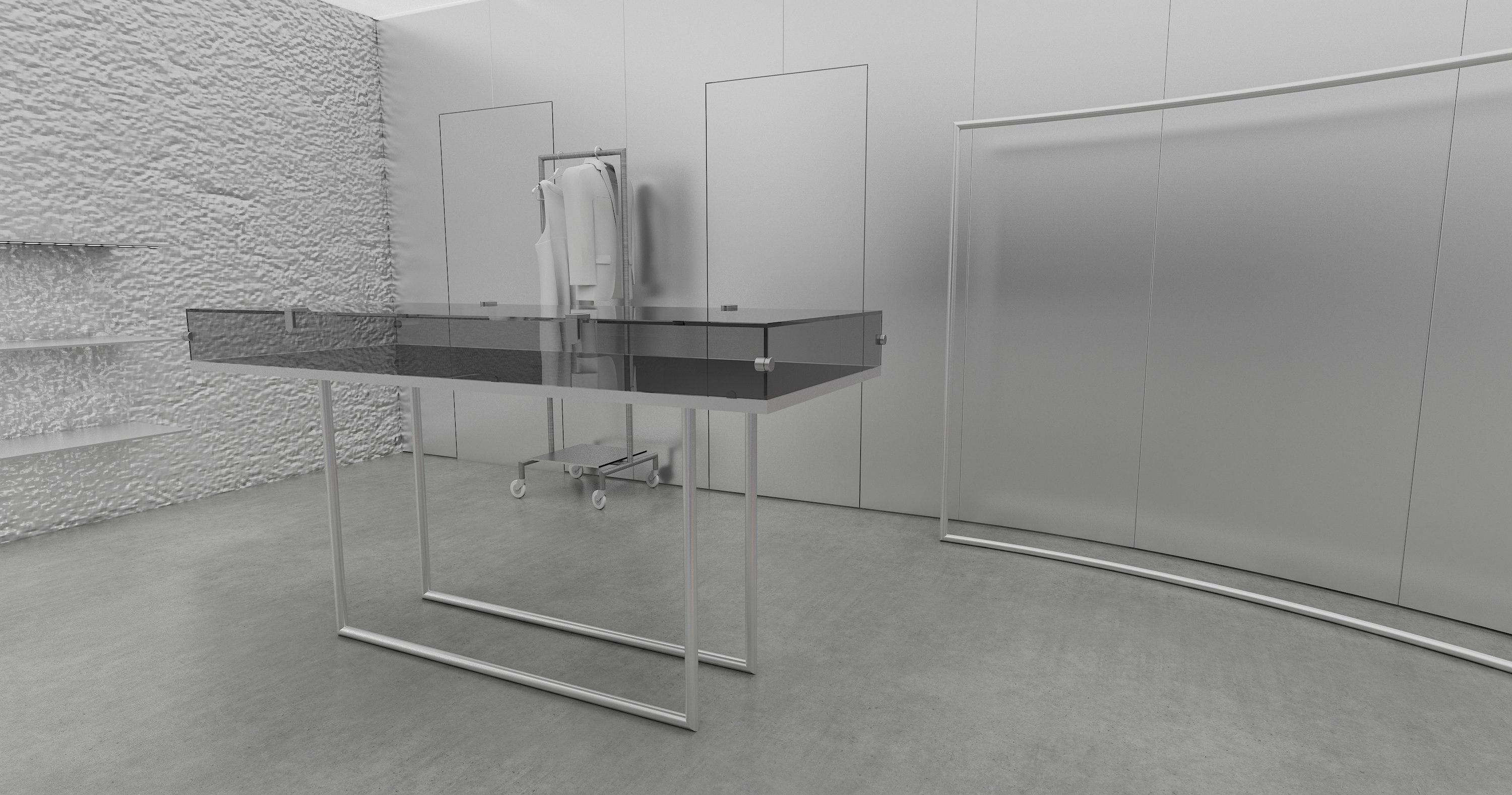 01 Glass table